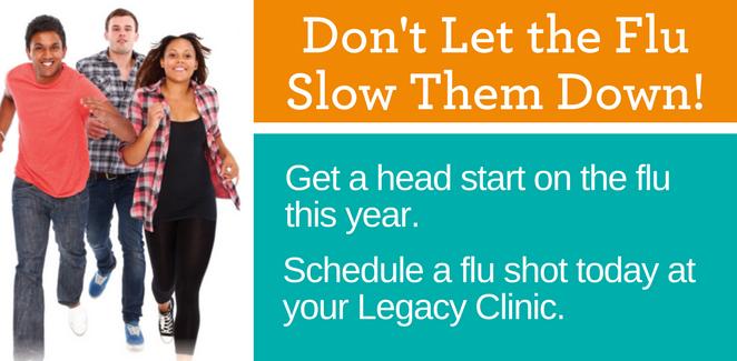 Get a flu shot today