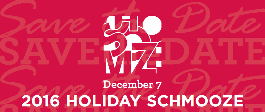 Houston Holiday Schmooze Save the Date December 7 2016