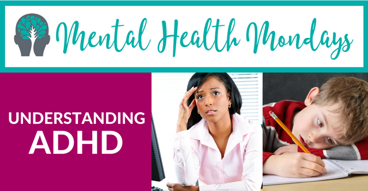 Understanding ADHD Title Adult Child