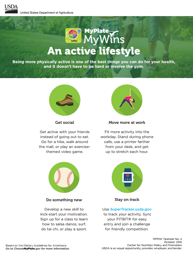 active lifestyle tips