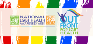 National LGBT Health Awareness Week Out Front for LGBT Health