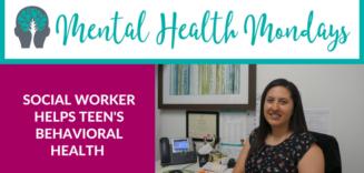 Social Worker Helps Teens Behavioral Health
