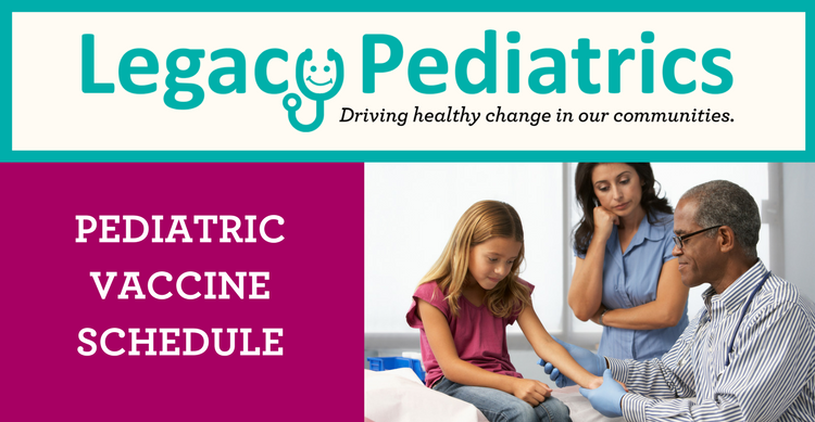 Pediatric Vaccine Schedule
