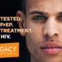 End HIV Red Ribbon Logo
